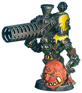 Ork with Shokk Attack Gun