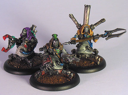 Necrotechs and Scrap Thralls