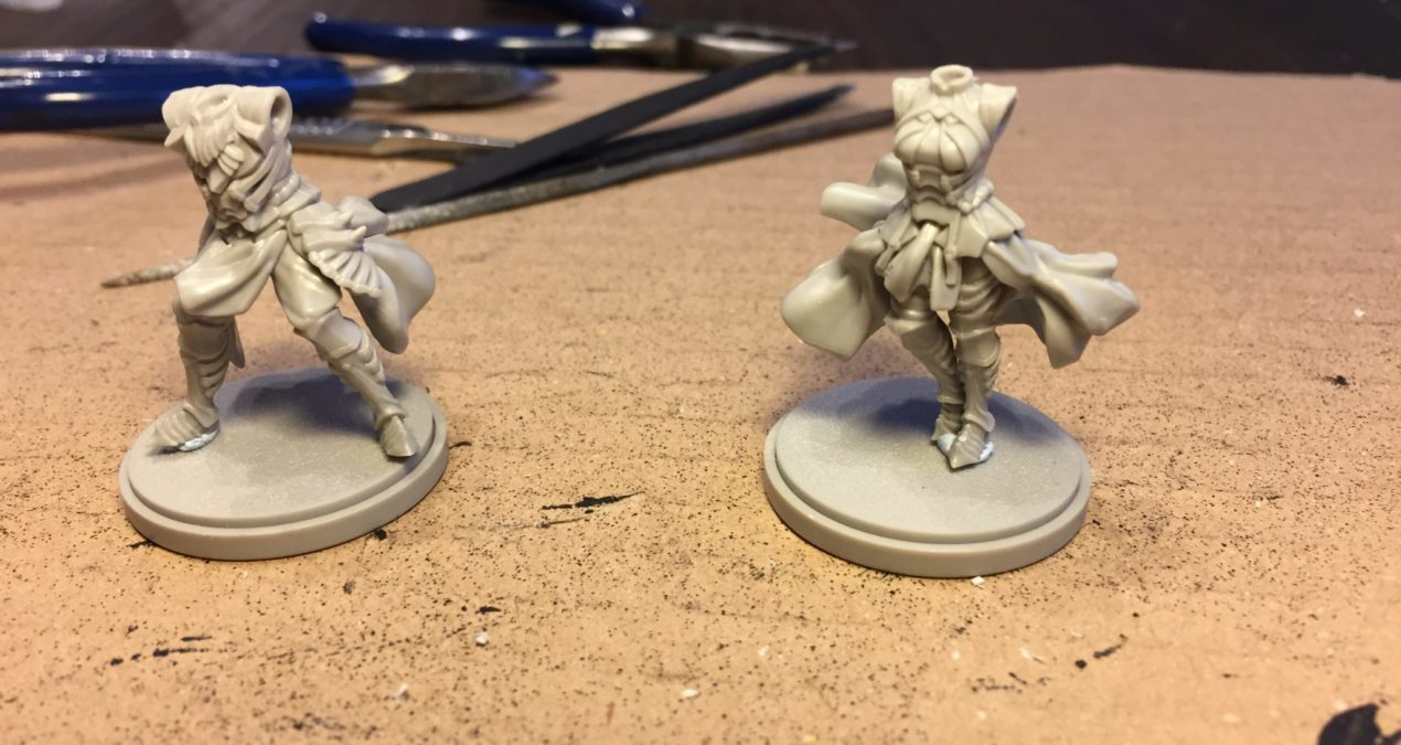 Kingdom Death: Monster – Assembling the Green Armour figs