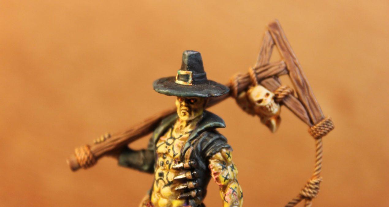 Kingdom Death: Monster – Manhunter painted … (finally!)