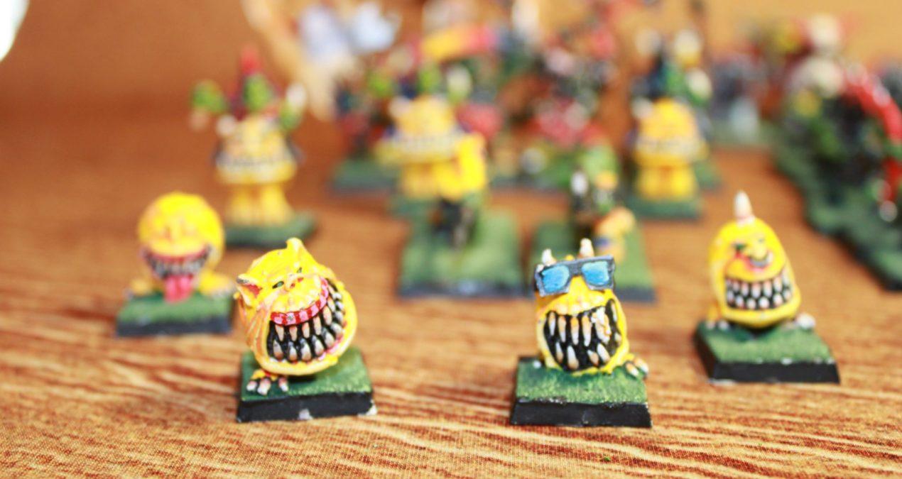 Warhammer Fantasy Battle 3rd Edition: Orc and Goblin army