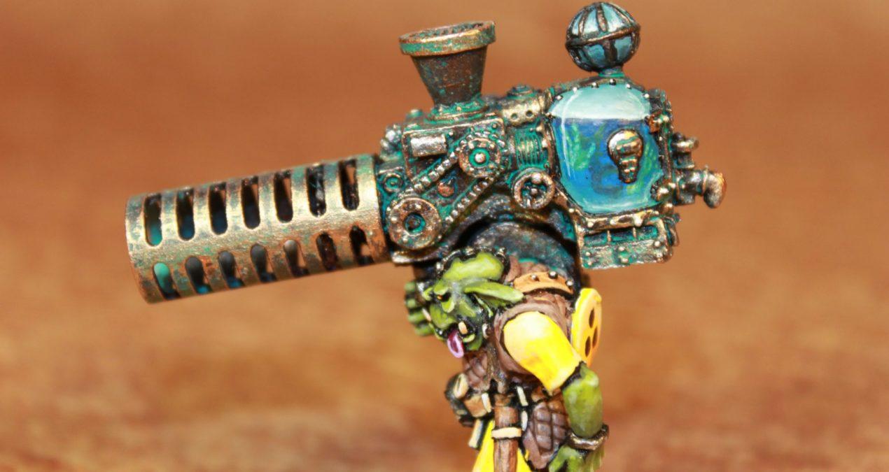 Warhammer 40.000: Rogue Trader – Shokk Attack Gun (plus ammo!)