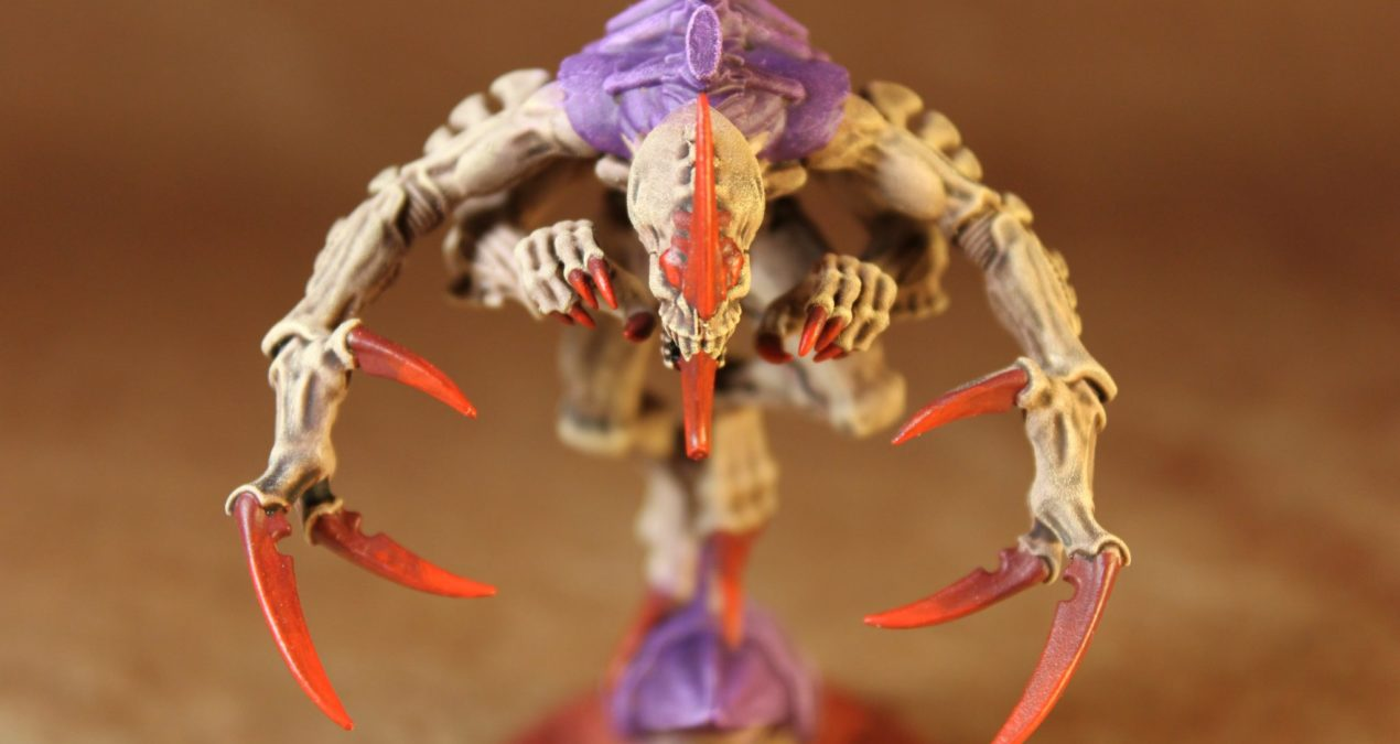 Warhammer 40.000 – How to speed paint Tyranids