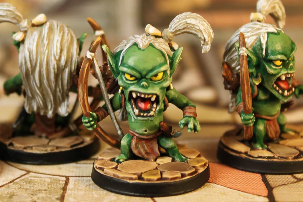 Arcadia Quest – Goblin Archers, Minor Minions