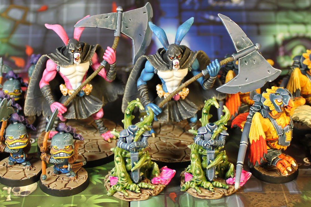 Super Dungeon Explore: Forgotten King – Grobbit Executioners, Frog Knights and Billmen