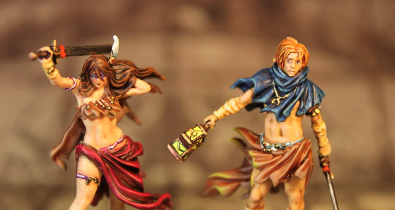 Kingdom Death: Monster – Survivors: Intimacy couple