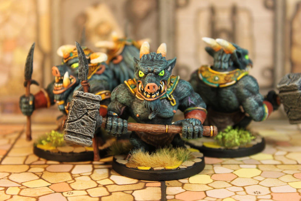 Arcadia Quest – Hammer and Spear Beastmen Major Minions