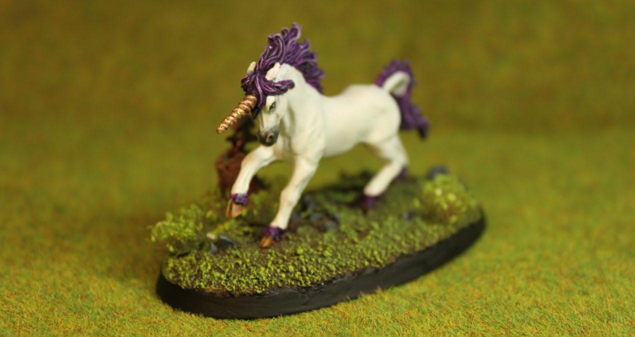 "Dungeons & Dragons – Unicorn ""Silverhorn"" (Reaper Miniatures)"