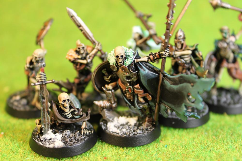 Dungeons & Dragons – Sepulchral Guard Skeletons (Shadespire – Games Workshop)