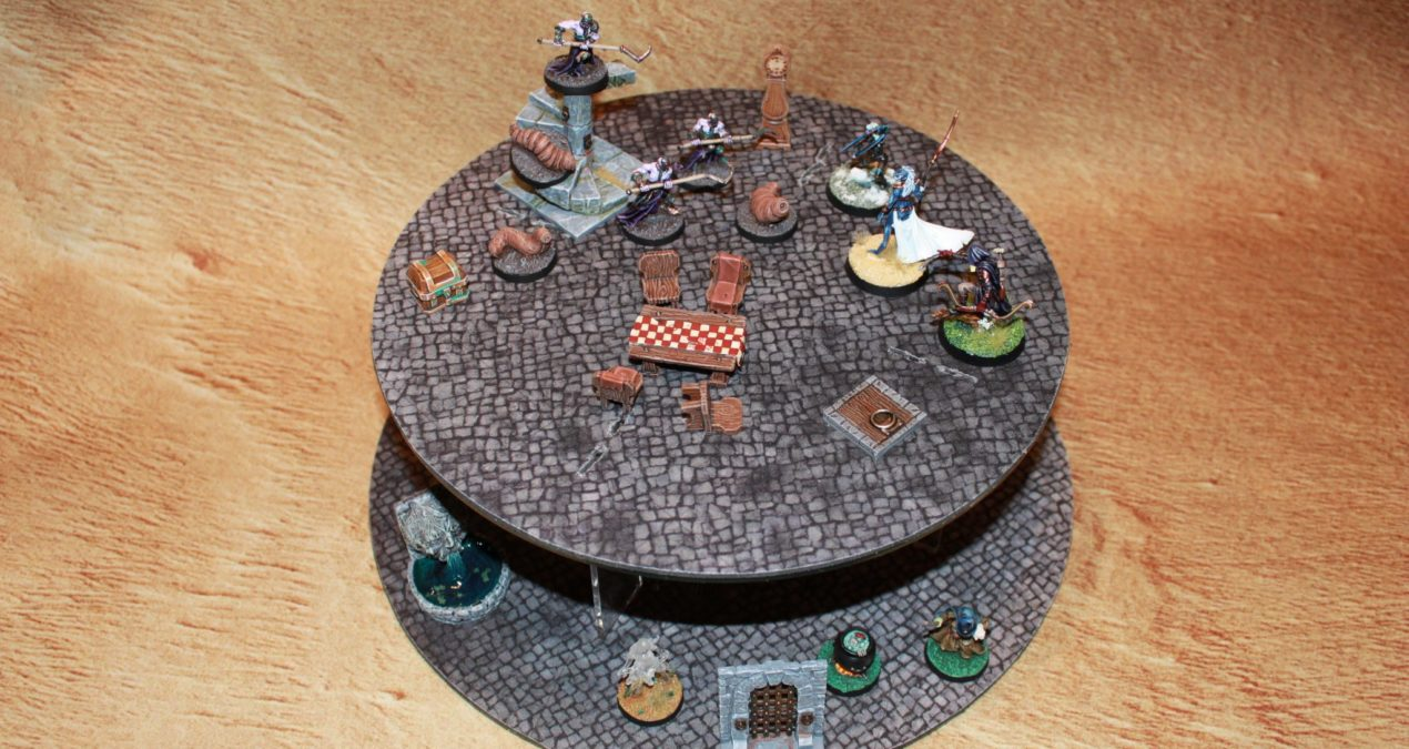 Dungeons & Dragons – Gaming board set 3 – The Tower