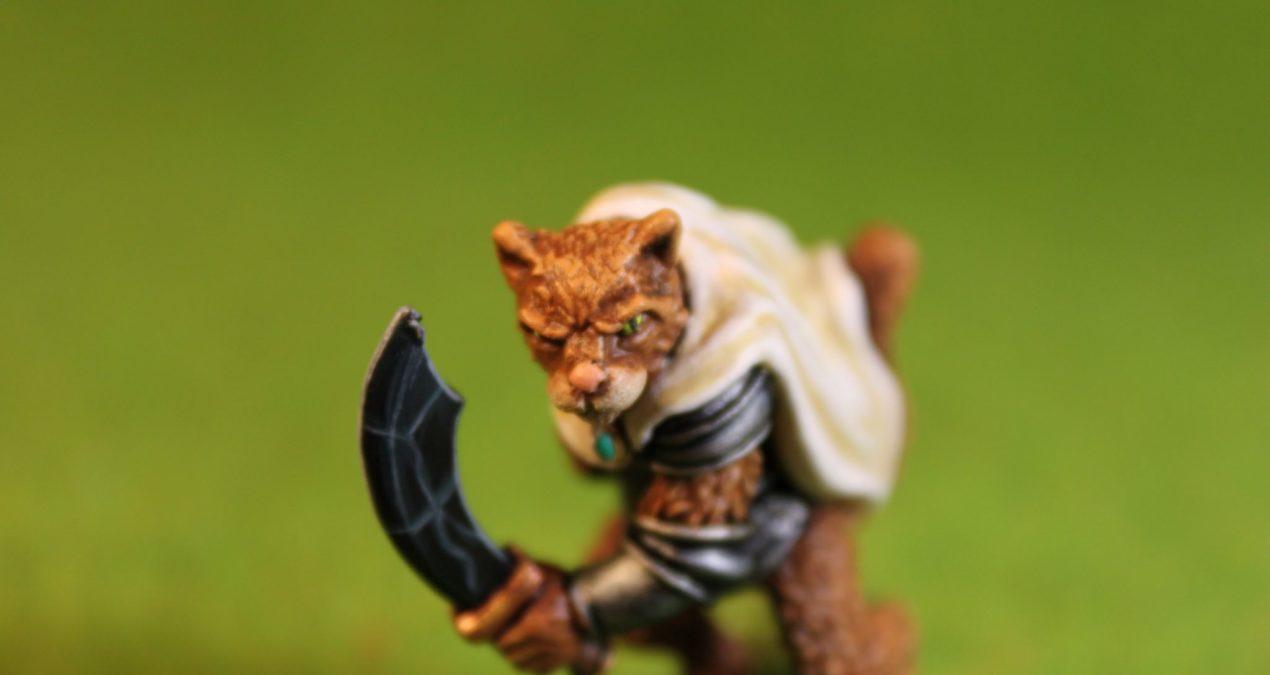 Dungeons & Dragons – Wildcat Warrior (Oathsworn Miniatures)