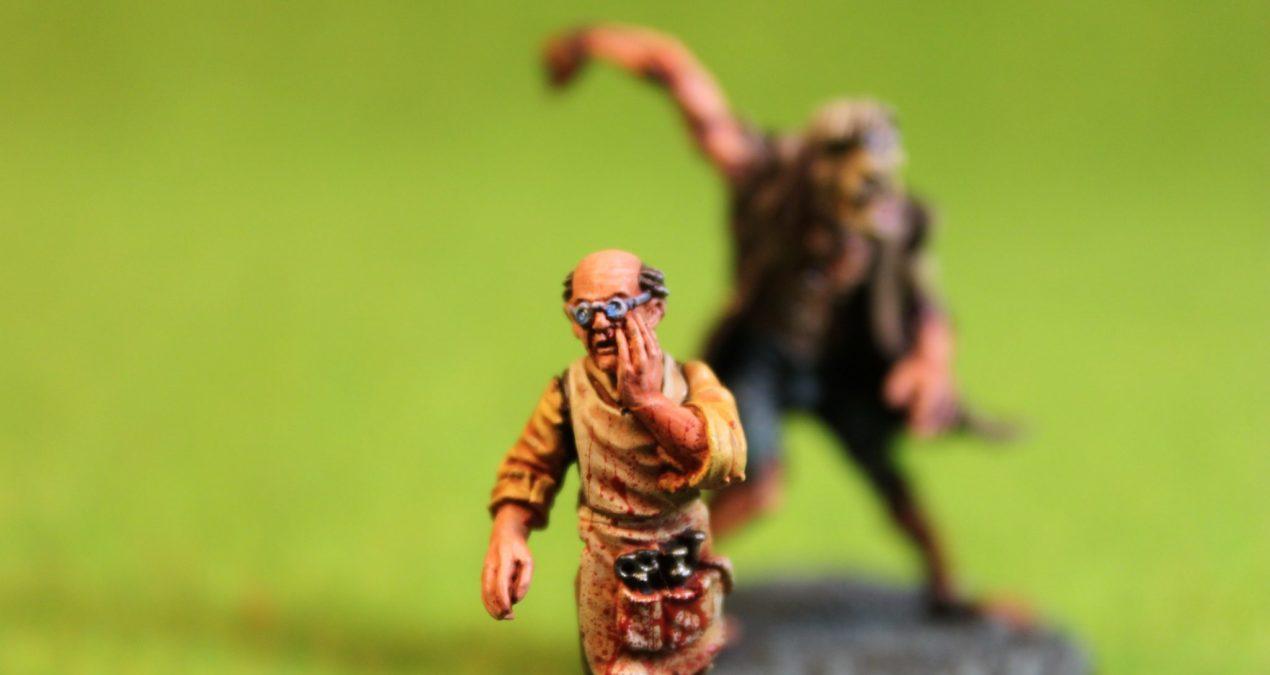 Dungeons & Dragons – Dr Frankenmuller and Flesh Golem (Heresy Miniatures)