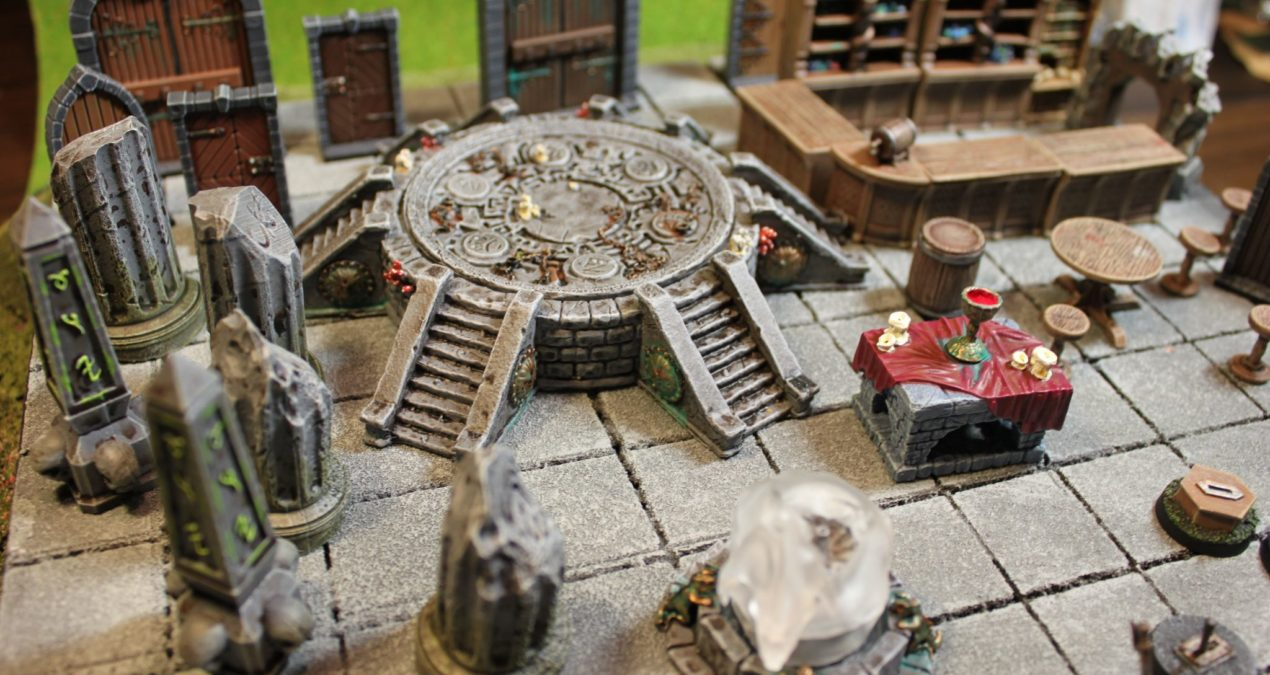 Dungeons & Dragons – Scenery bits from Zealot Miniatures, Forge Prints, WizKids and Mantic Games