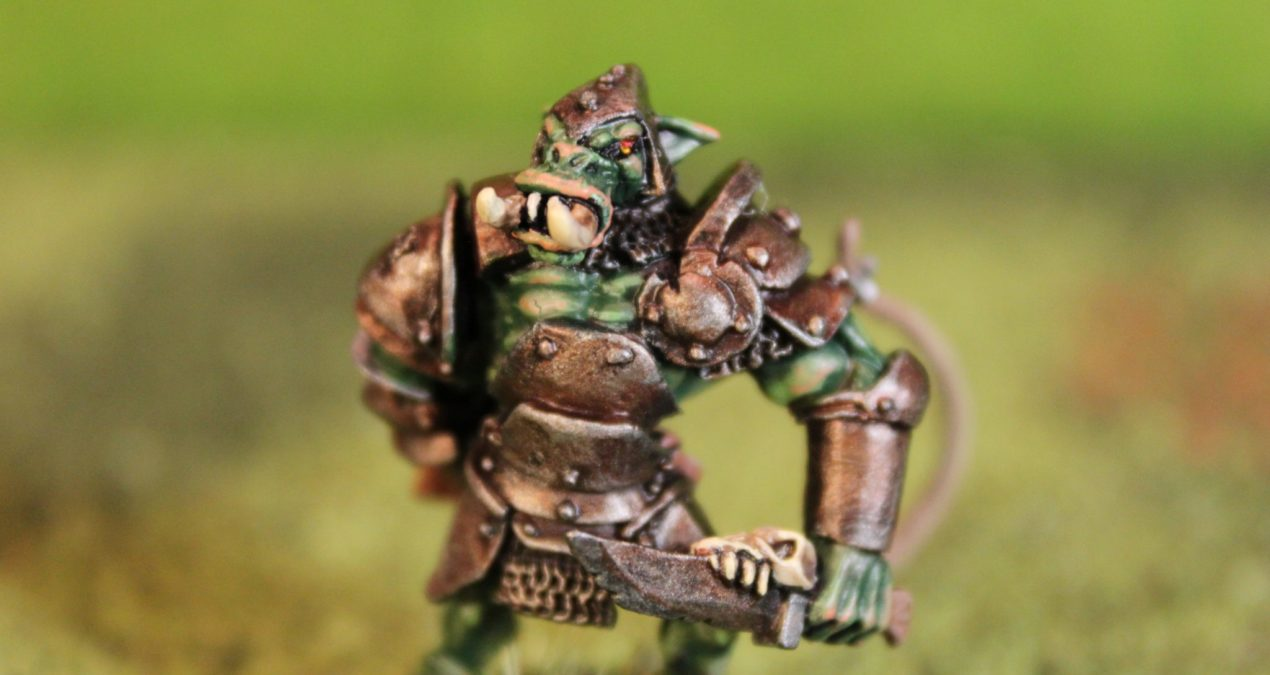 Dungeons & Dragons – Orc Kharg, Reven Sergeant (Reaper miniatures)