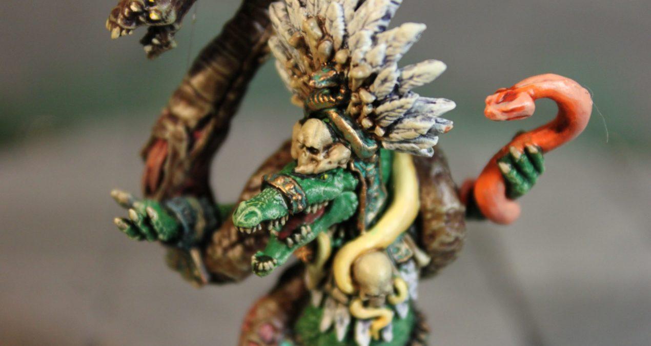 Dungeons & Dragons – Gatormen Jaga-Jaga, the Death Charmer (Privateer Press)