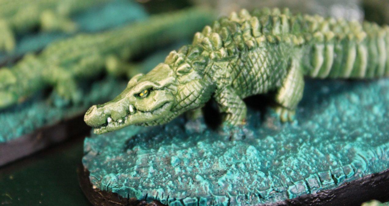 Dungeons & Dragons – Crocodiles (Steve Barber Models)