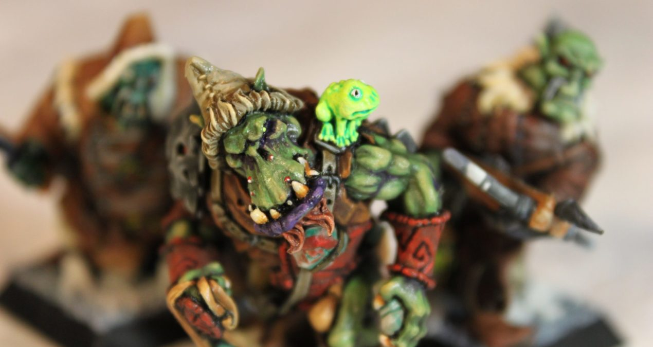Dungeons & Dragons – Kolgor and Trackers of the Behemoth (Rackham Miniatures)
