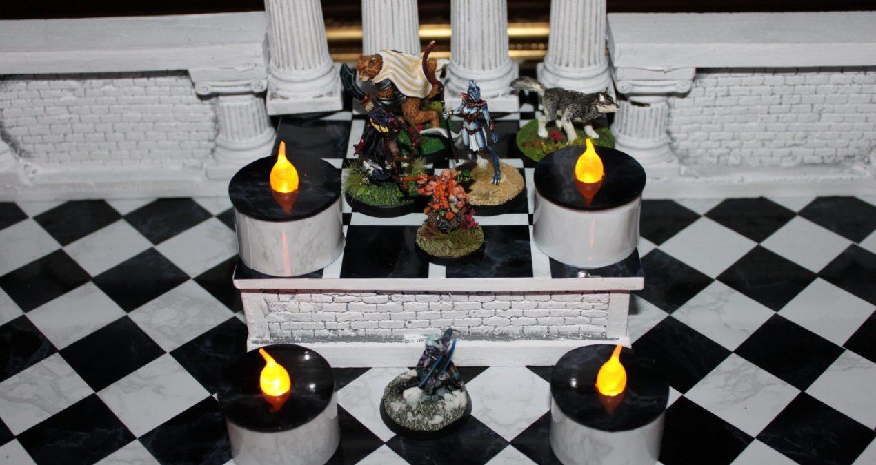 Dungeons & Dragons – Gaming board set 6 – The Posh Ball