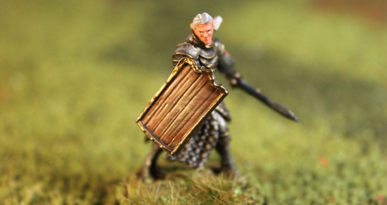 Dungeons & Dragons –  Elf Male Paladin (WizKidz)