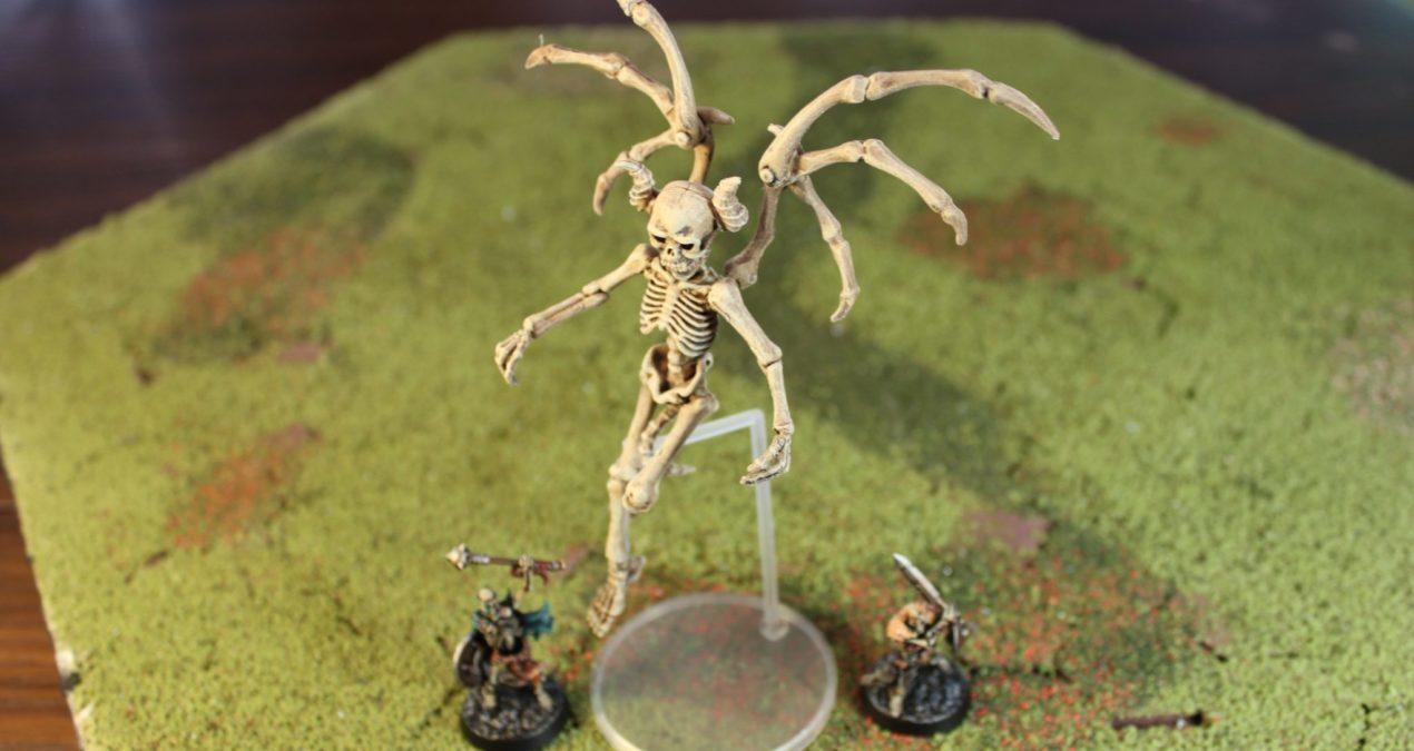Dungeons & Dragons – Pose Skeleton Not Human 01 Devil  (Re-Ment)