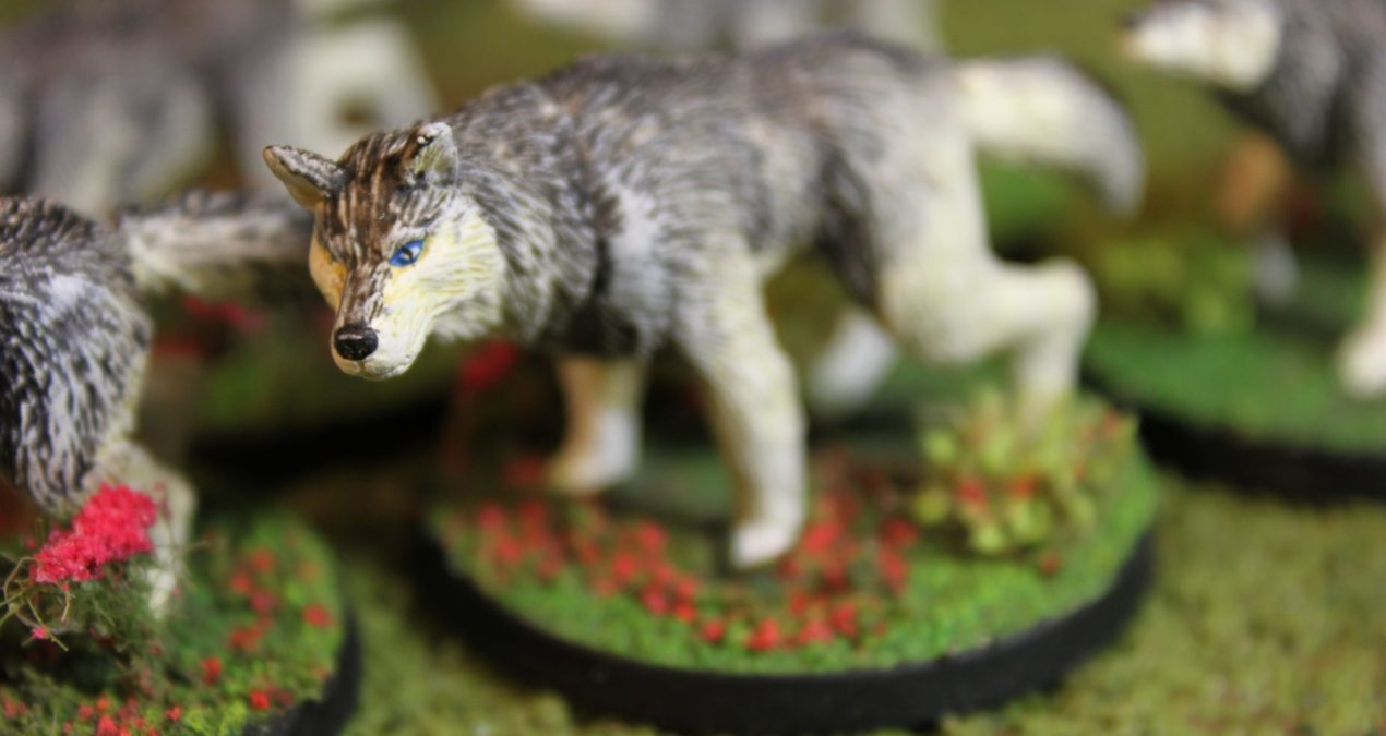 Dungeons & Dragons – Wolves (Otherworld Miniatures)