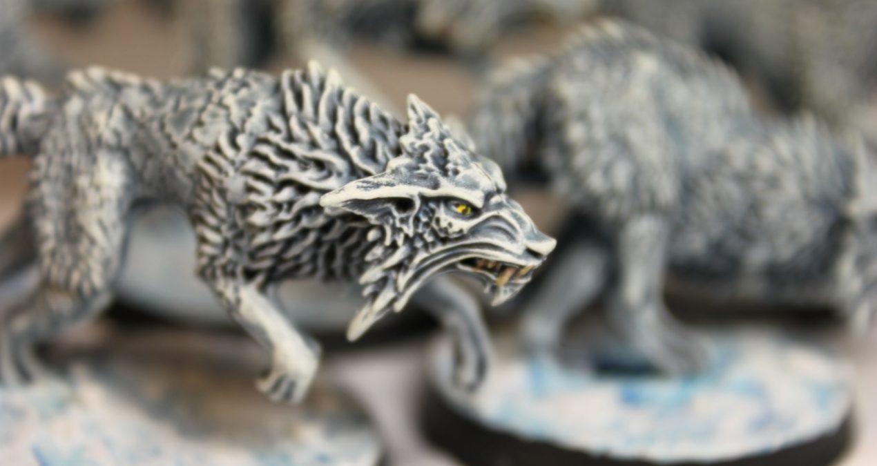 Dungeons & Dragons –  Fenrisian Wolves (Games Workshop)