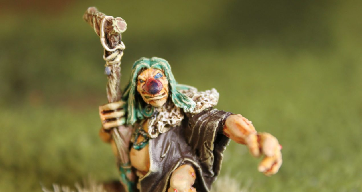 Dungeons & Dragons –  Trygve, Forest Troll Shaman (North Star Military Figures)
