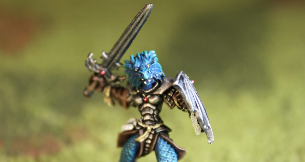 Dungeons & Dragons –  Na'Kaat, Female Half Dragon Paladin (Reaper Miniatures)