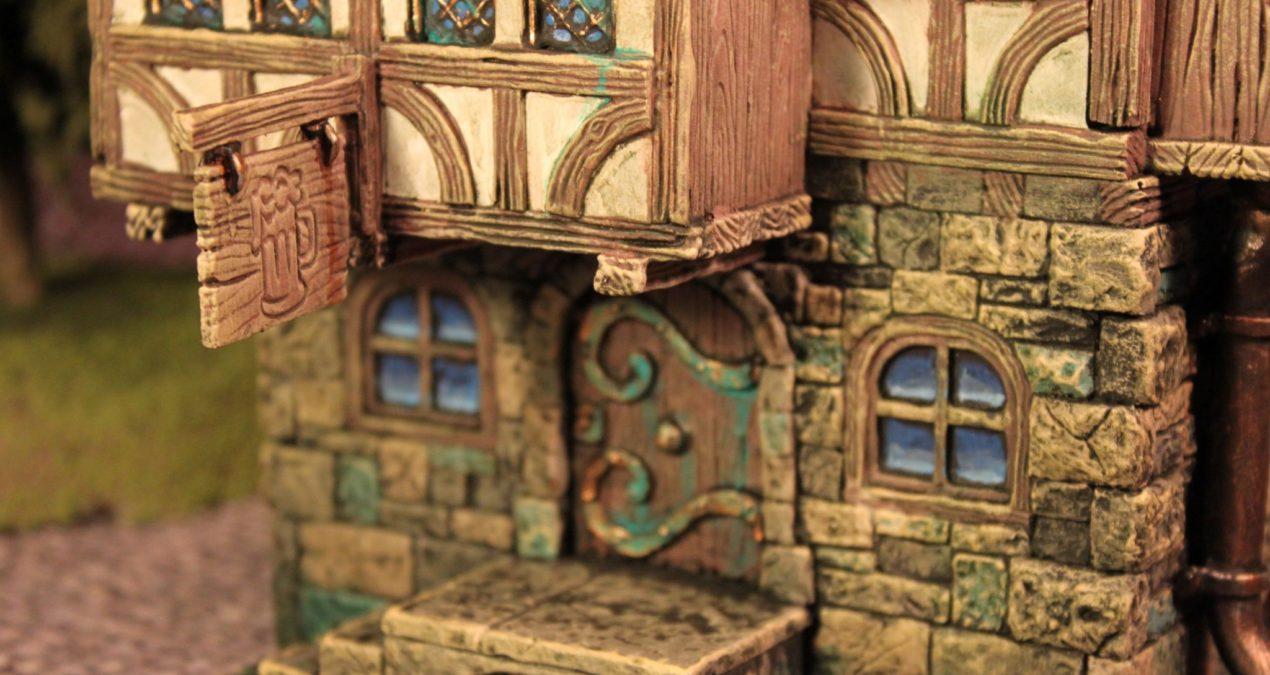 Dungeons & Dragons – Medieval Tavern (Zealot Miniatures)