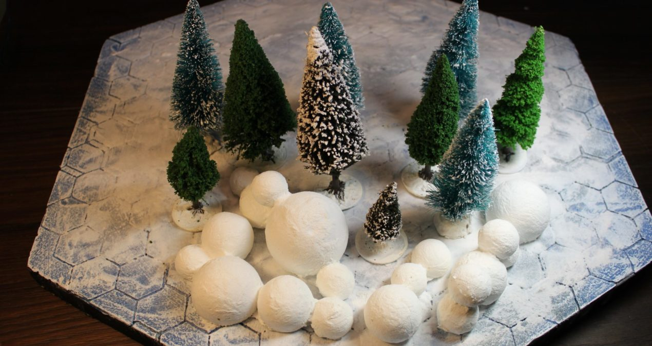 Dungeons & Dragons – Fast snow terrain