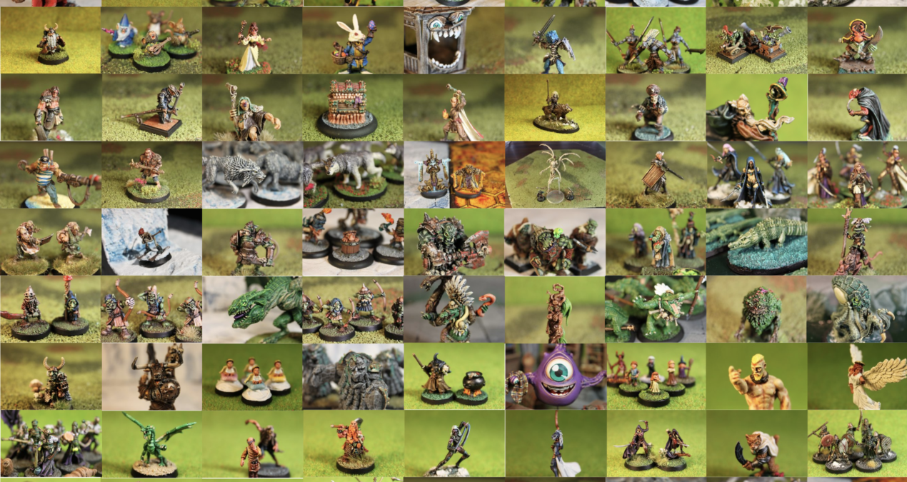 Dungeons & Dragons MEGA POST – My 2018 painted miniatures!