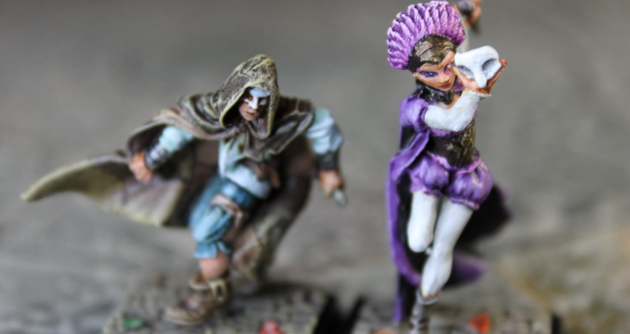 Dungeons & Dragons –  Coscritti & Harlequin (Freebooter Miniatures)