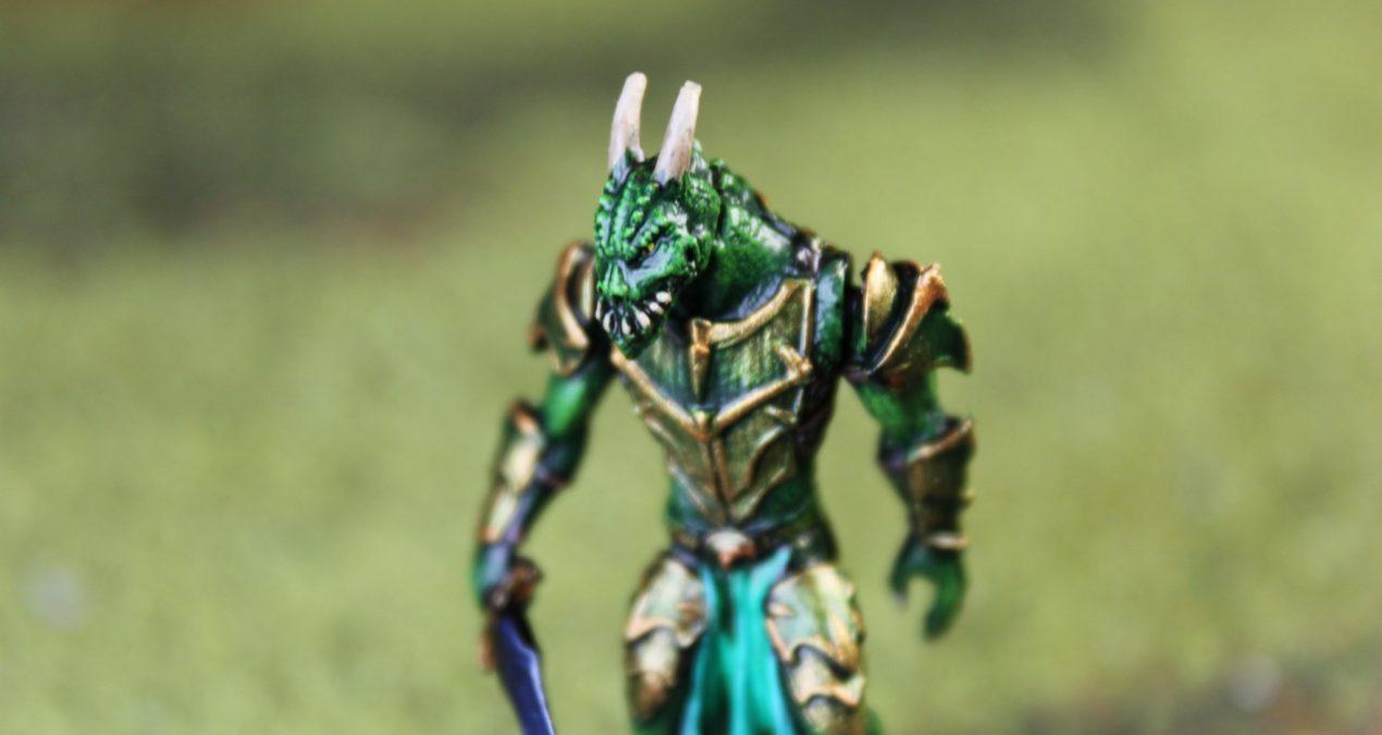 Dungeons & Dragons – Male Dragonkin Warrior (Darksword miniatures)