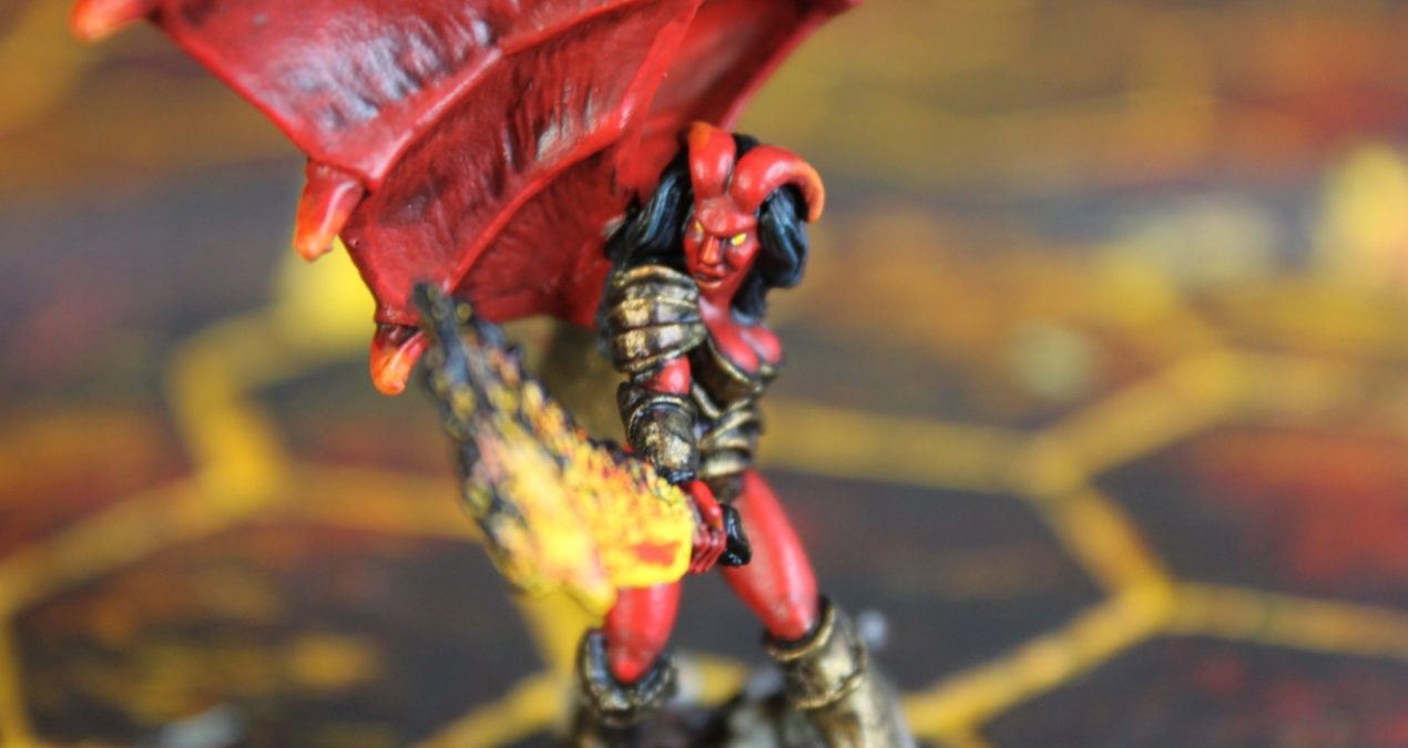 Dungeons & Dragons – Winged Imogen (Hasslefree Miniatures)