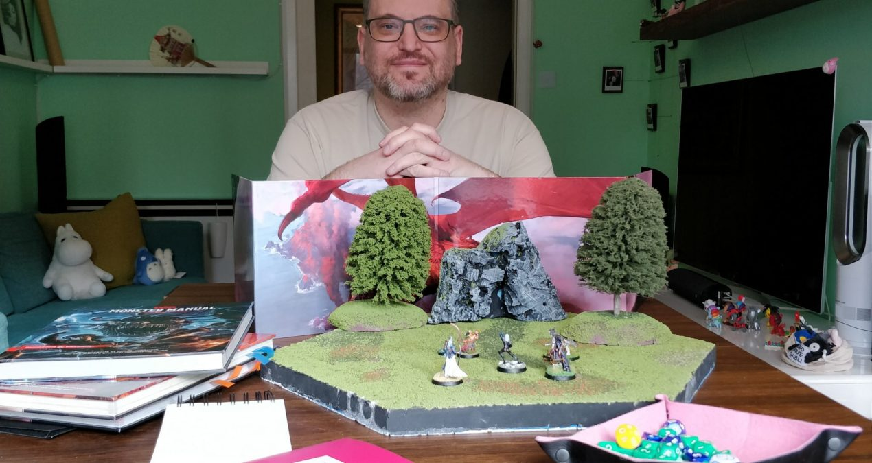 Starting from scratch with Dungeons & Dragons: What minis to paint, what scenery to build.