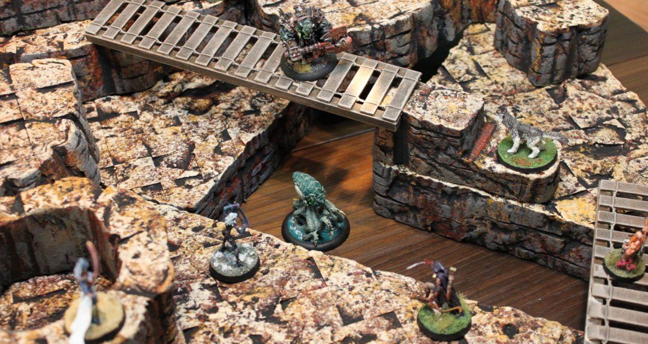 Dungeons & Dragons – Gaming board set 7 – Bone Dry Stony Desert / Humid Marshland