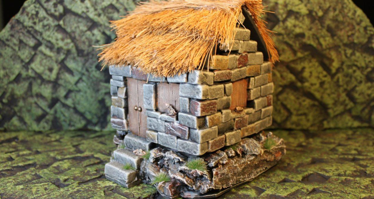 Dungeons & Dragons – Homemade shabby hut