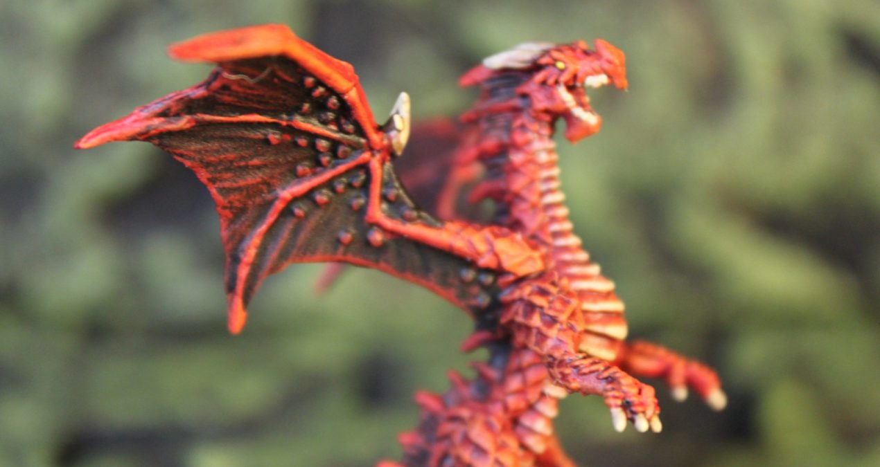 Dungeons & Dragons – Red Dragon Hatchling (Reaper Miniatures)