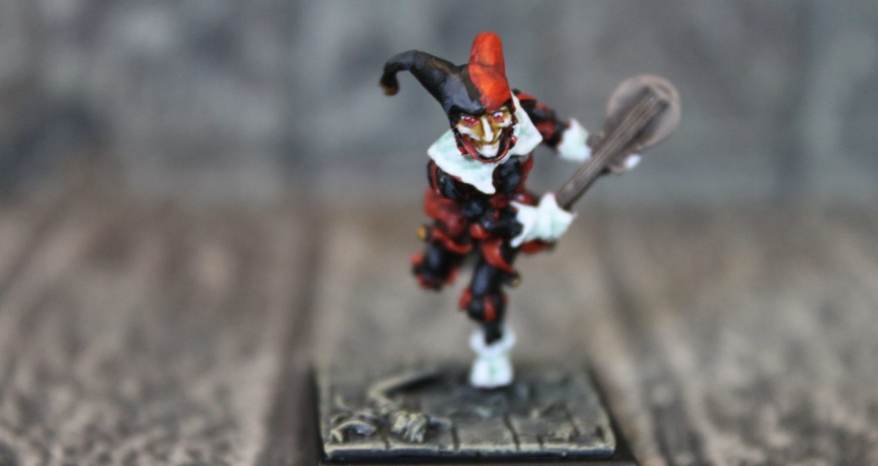Dungeons & Dragons – Imperial Fool Jester (Freebooter Miniatures)