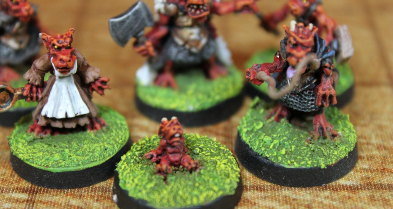 Dungeons & Dragons – Kobolds (Otherworld Miniatures)