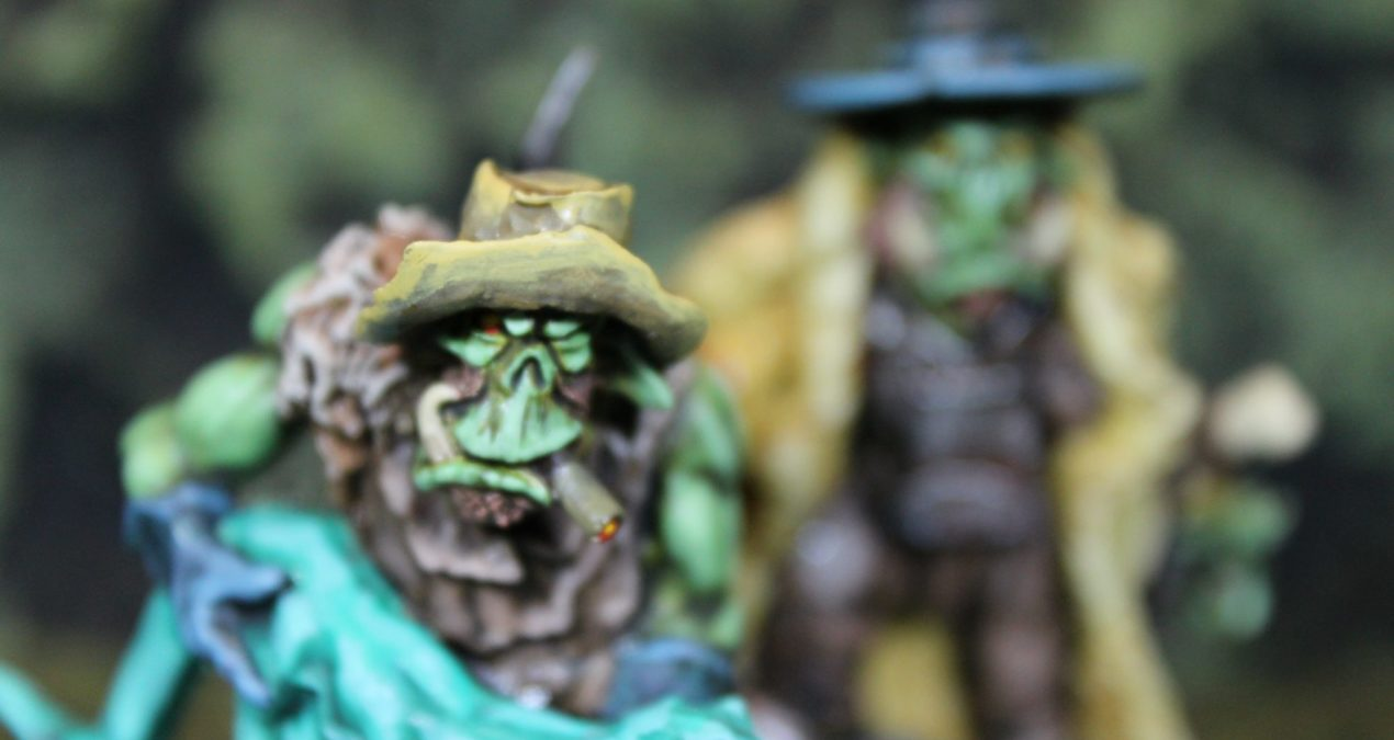 Dungeons & Dragons – Orc Hill Billies (unknown manufacturer. Bought at Salute 2018)
