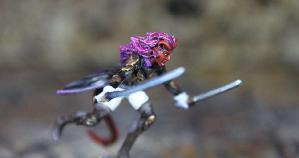 Dungeons & Dragons – Tiefling Rogue (Darksword Miniatures)