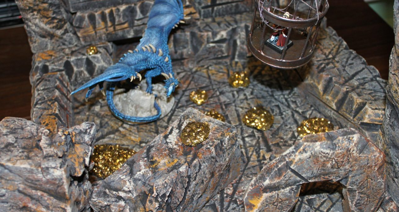 Dungeons & Dragons – Gaming board set 8 – The Dragon's Lair