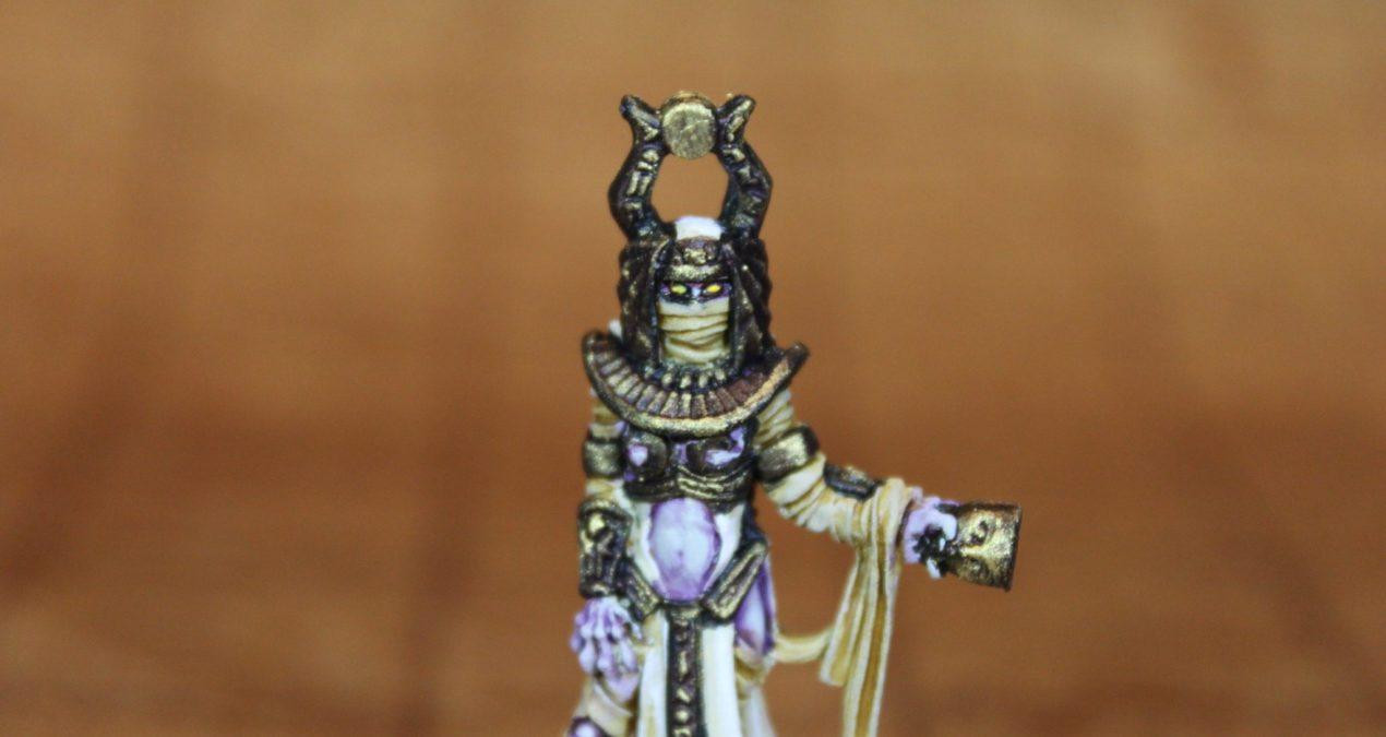 Dungeons & Dragons – Mummy Queen Netikerti, Nefsokar Mage (Reaper Miniatures)