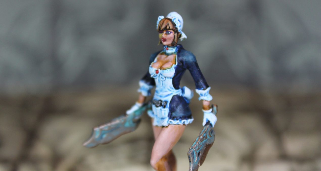 Kingdom Death: Monster – Female Chef Pinup