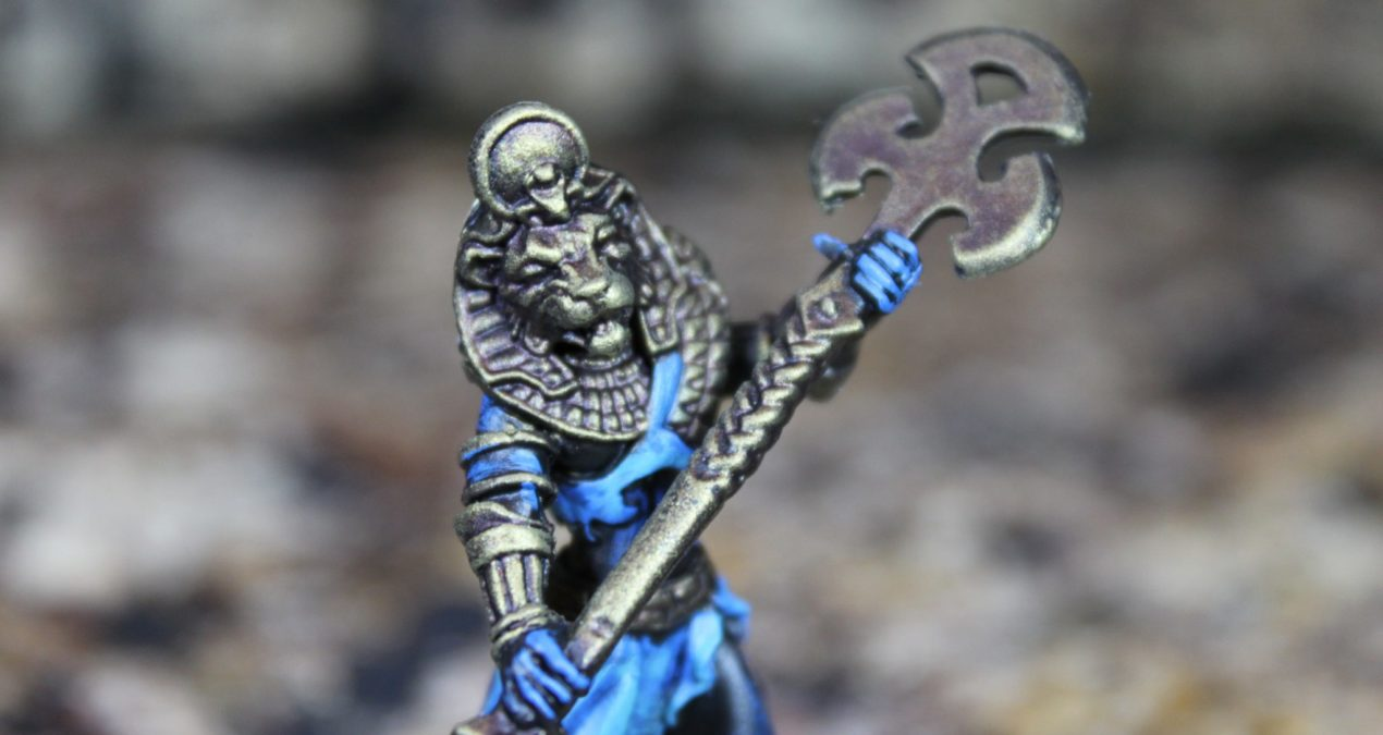 Dungeons & Dragons – Avatar of Sekhmet (Reaper Miniatures)
