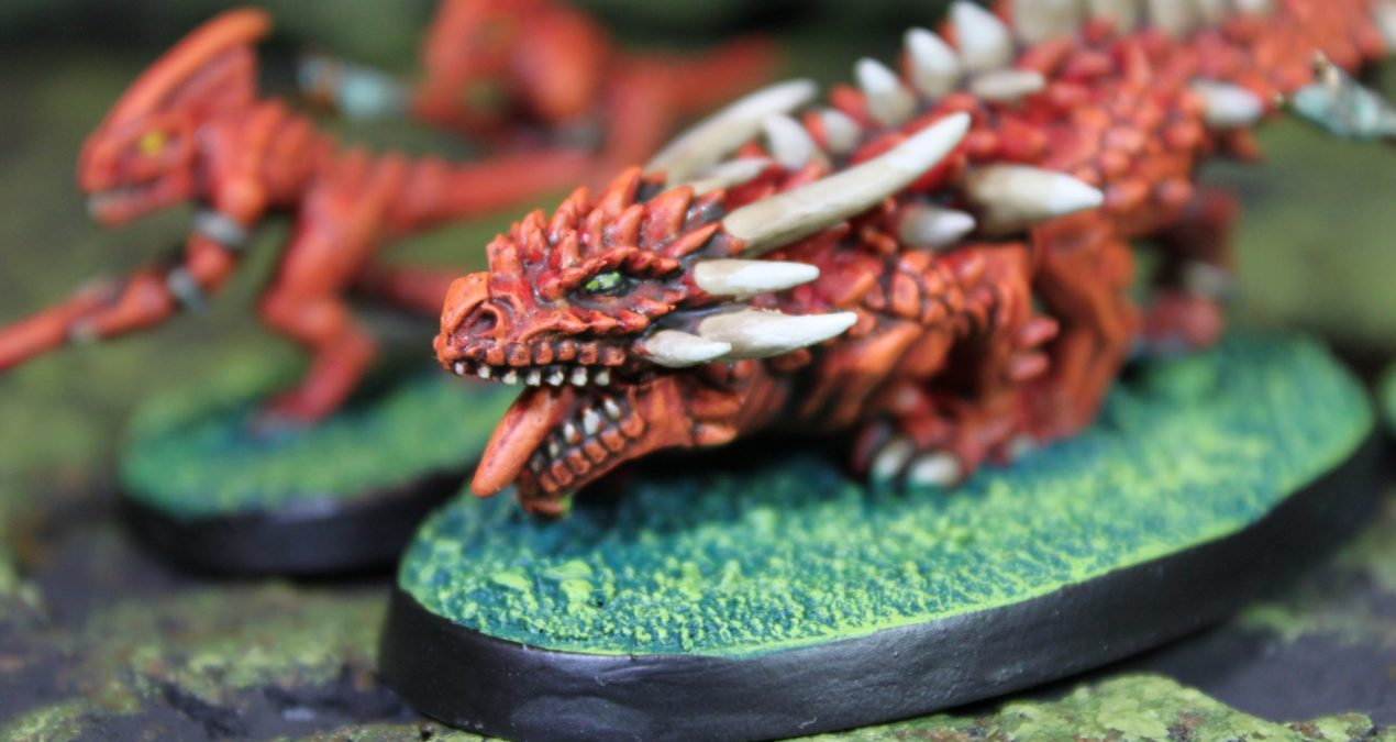 Dungeons & Dragons – Razordon as Kobold heavy artillery (Games Workshop)