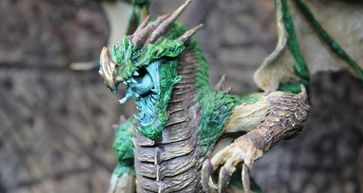 Dungeons & Dragons – Ancient Green Dragon Angrislaug, Draiggoch of Eryri (Mierce Miniatures)