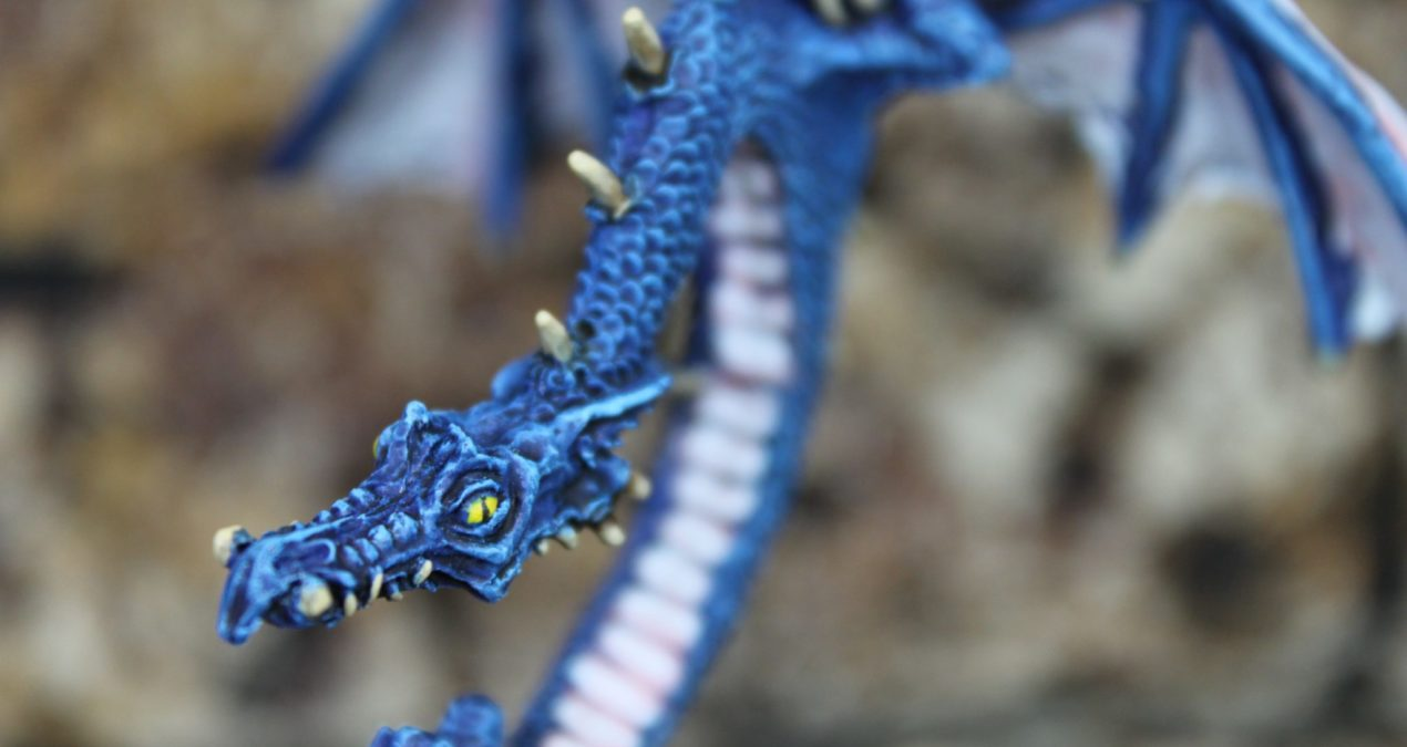 Dungeons & Dragons – Blue Dragon (Citadel by Tom Meier 1984)