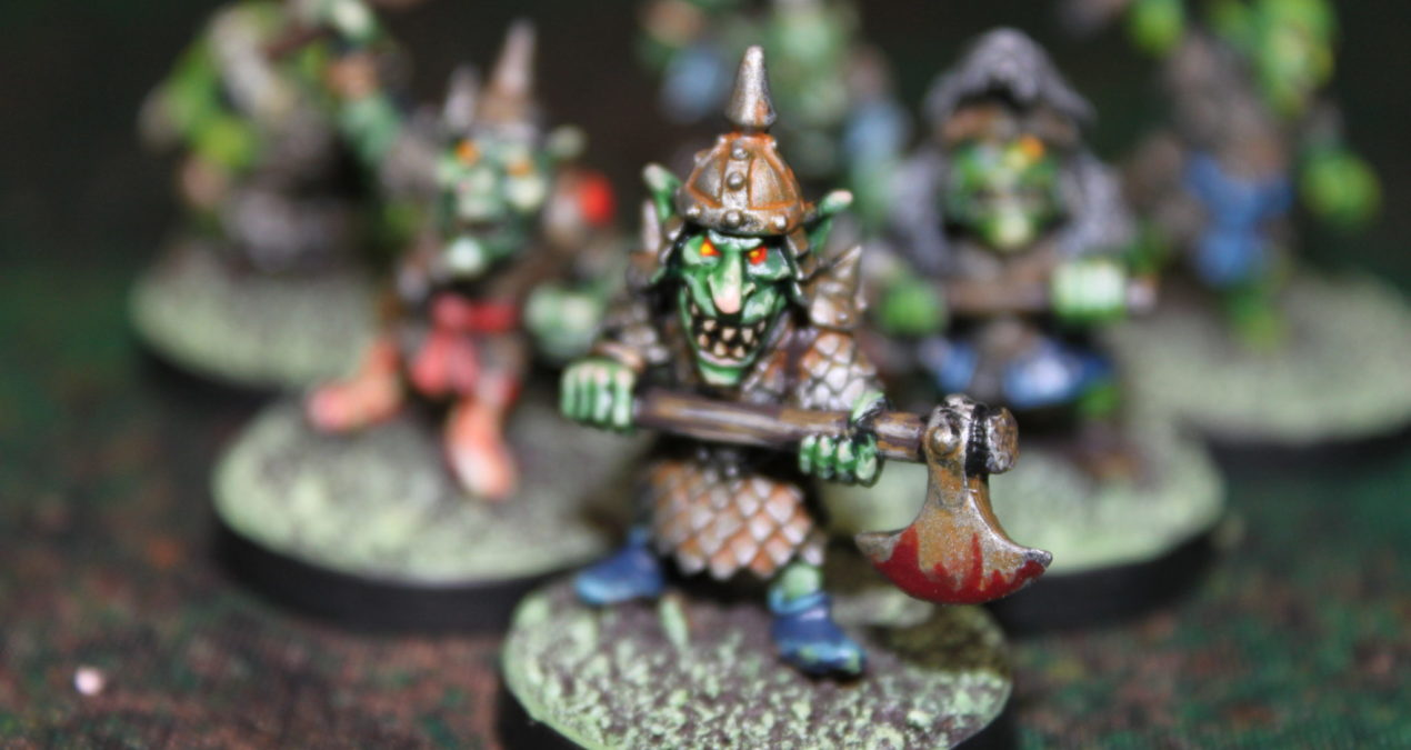 Dungeons & Dragons – Goblins with Hand Weapons (Knightmare Miniatures)